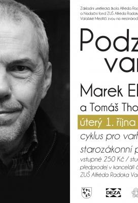Marek Eben hostem festivalu Podzimní varhany 2019