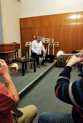 Petr Kabil vzdělával trumpetisty ve Valmezu