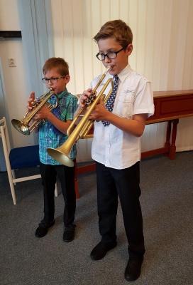 Koncert žáků dechových nástrojů