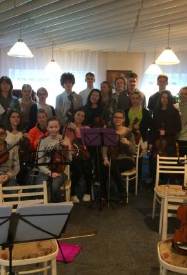 Smyčcový orchestr čeká náročné jaro
