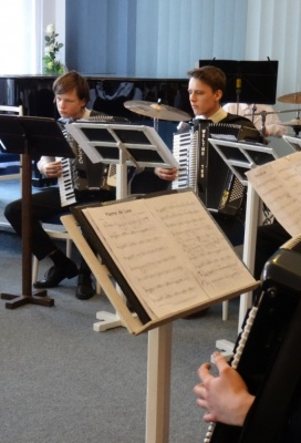 Okresní kolo ve hře na akordeon