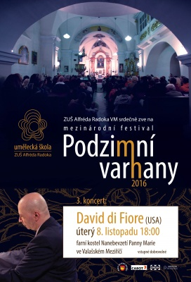 Závěrečný koncert Podzimních varhan již 8. listopadu
