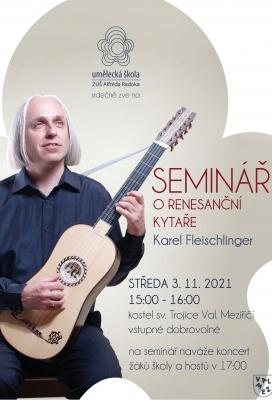 Seminář o renesanční kytaře