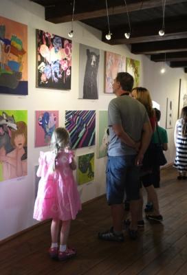 Galerie Sýpka vystavuje práce výtvarného oboru