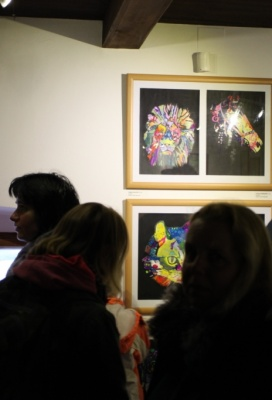 Výstava výtvarného oboru