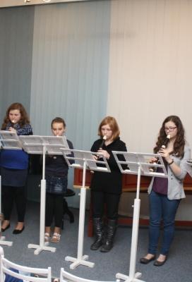 Koncert flétnové třídy Zuzany Haikerové