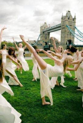 Tanečníci v LONDÝNĚ