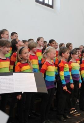 Koncert dětských pěveckých sborů