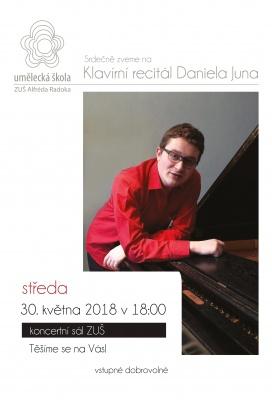 Klavírní recitál - Daniel Jun