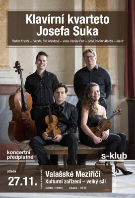Klavírní kvarteto Josefa Suka