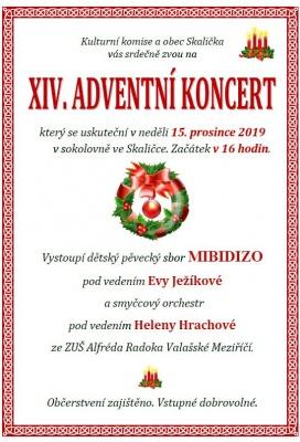 Adventní koncert ve Skaličce