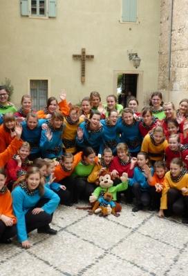 Pěvecký sbor v italské VERONĚ