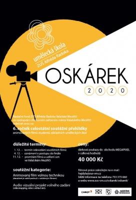 OSKÁREK 2020 - Soutěžní přehlídka animovaných filmů