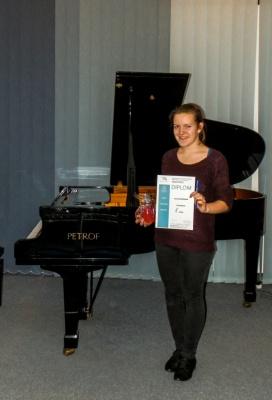 Školní kolo soutěžní přehlídky žáků ZUŠ - hra na klavír