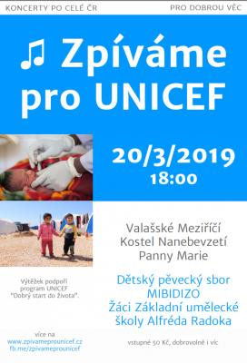 MIBIDIZO zazpívá pro UNICEF