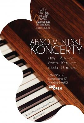 2. Absolventský koncert žáků