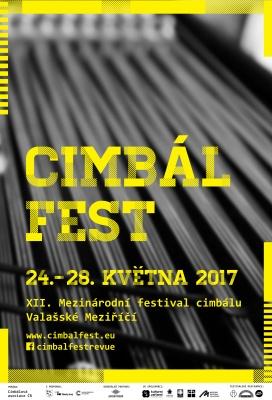 XII. Mezinárodní festival cimbálu 24. – 28. května 2017 Valašské Meziříčí