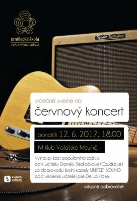 Červnový koncert - M-klub
