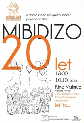 20. výročí pěveckého sboru MIBIDIZO
