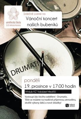 Vánoční koncert - Drumatix