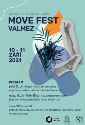 Pohybový festival MOVE Valmez již v září!