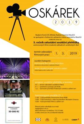 OSKÁREK - NÁHRADNÍ TERMÍN JE STANOVEN NA 8. BŘEZNA 2019