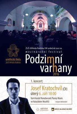 První koncert festivalu Podzimní varhany se blíží - upoutávka Regionální televize CZ