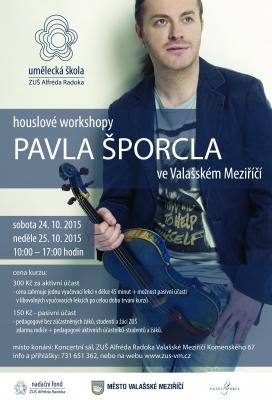Vynikající houslový virtuóz ve Valmezu znovu povede houslové lekce