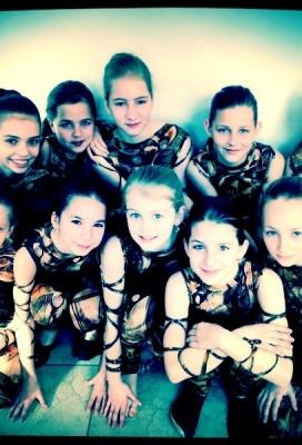 Taneční vystoupení ZUŠ pro děti v zámku Žerotínů ve Valašském Meziříčí
