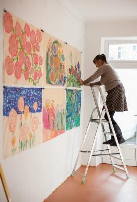 Žáci ZUŠ Alfréda Radoka vystavují svá díla