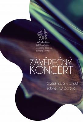 Závěrečný koncert žáků - Zašová