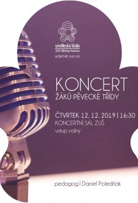 Pěvecký koncert žáků